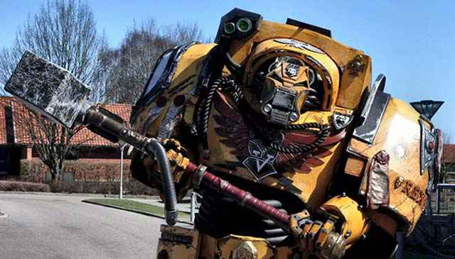 Warhammer 40K : Space Marine - Un superbe cosplay