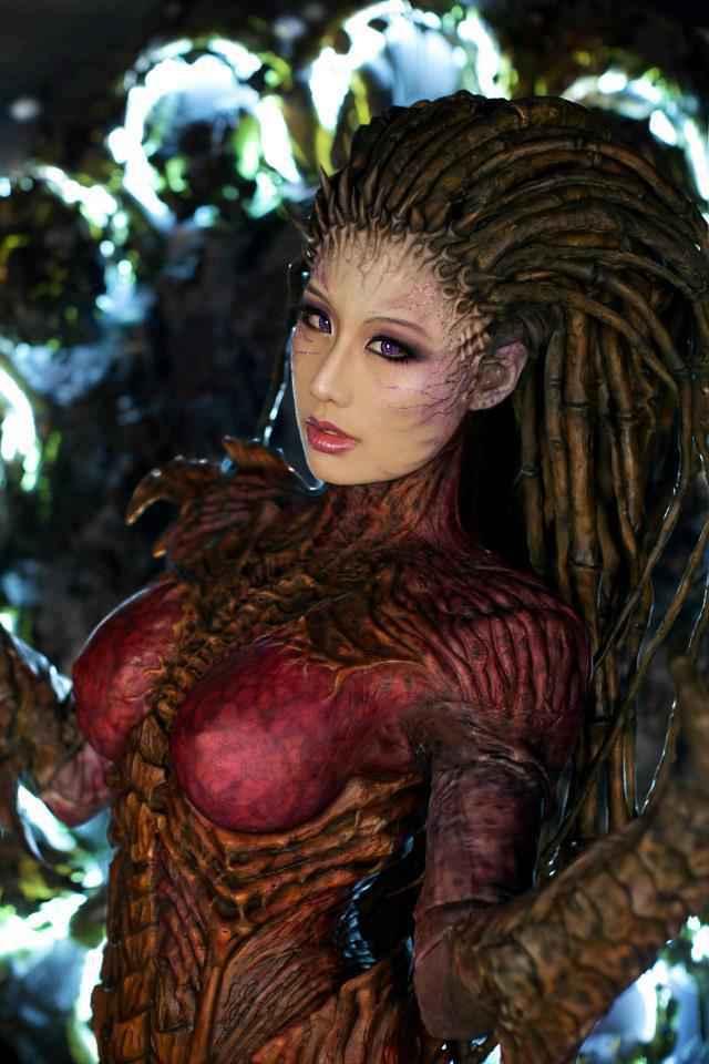 StarCraft 2 : Un superbe cosplay de Kerrigan