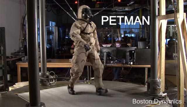 PETMAN, un robot effrayant de réalisme