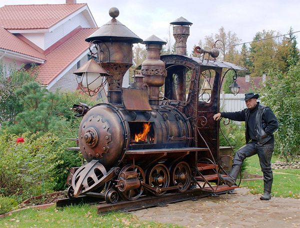 Une locomotive pour vos barbecues !
