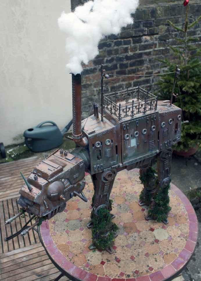 Un quadripode steampunk en cadeau de mariage