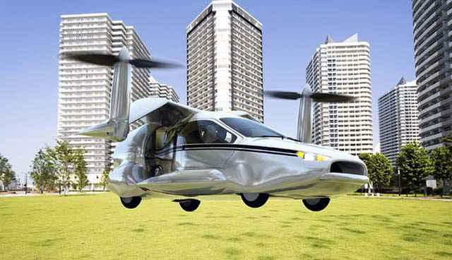 TF-X - Une voiture volante sans permis (ou presque)