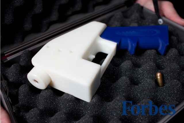 Liberator - Un pistolet fonctionnel intégralement imprimé en 3D