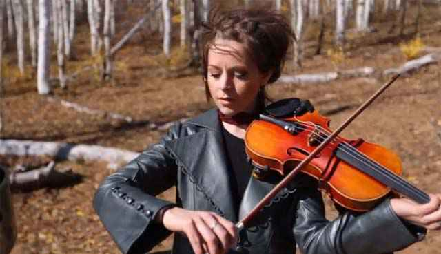 Halo au violon par Lindsey Stirling & William Joseph