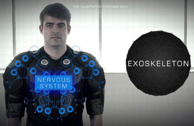 Un harnais pour ressentir les impacts de balles dans les jeux-vidéo