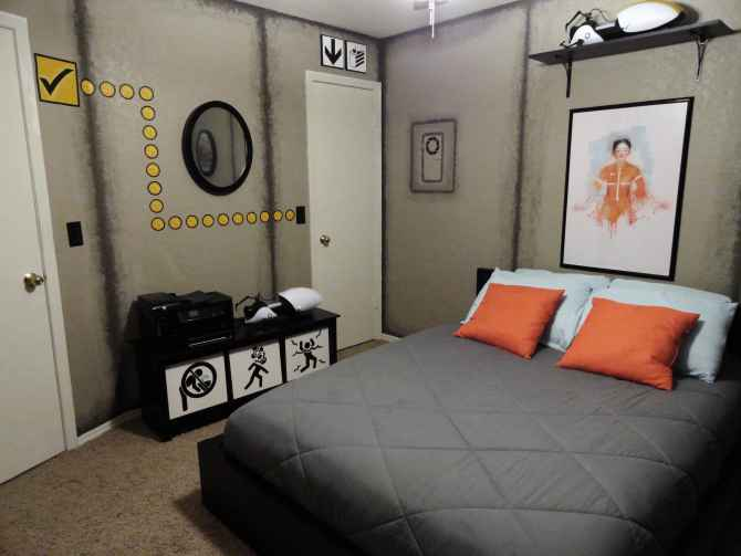 Une incroyable chambre Portal