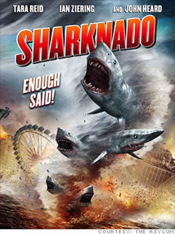 sharknado-affiche