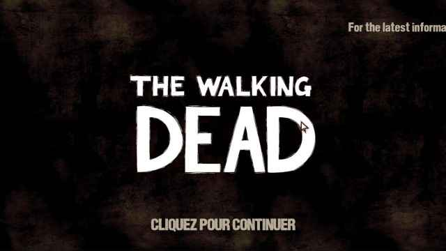 The Walking Dead - Un patch pour traduire le jeu en Français