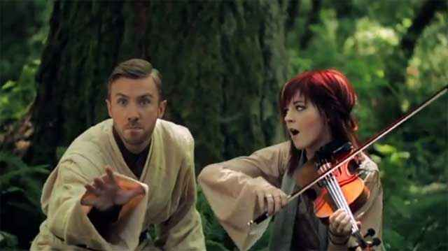Star Wars Medley - Lindsey Stirling & Peter Hollens