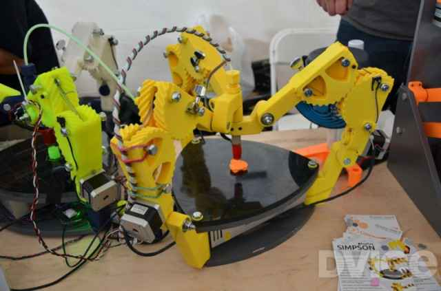 Imprimception - Une imprimante 3D qui imprime des imprimantes 3D