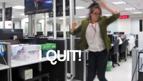 Elle démissionne en publiant une vidéo sur Youtube