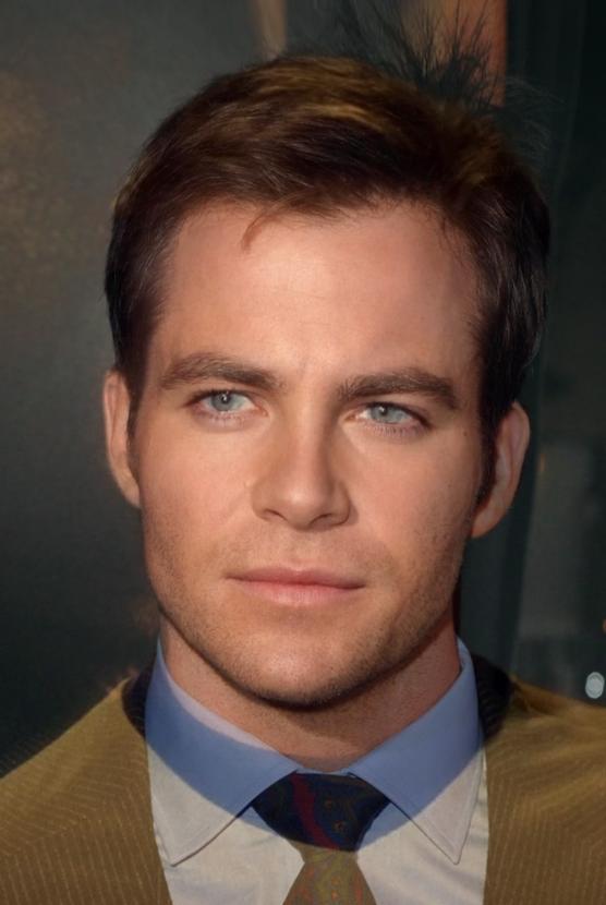 Star Trek - Un morphing du visage des nouveaux et des anciens acteurs