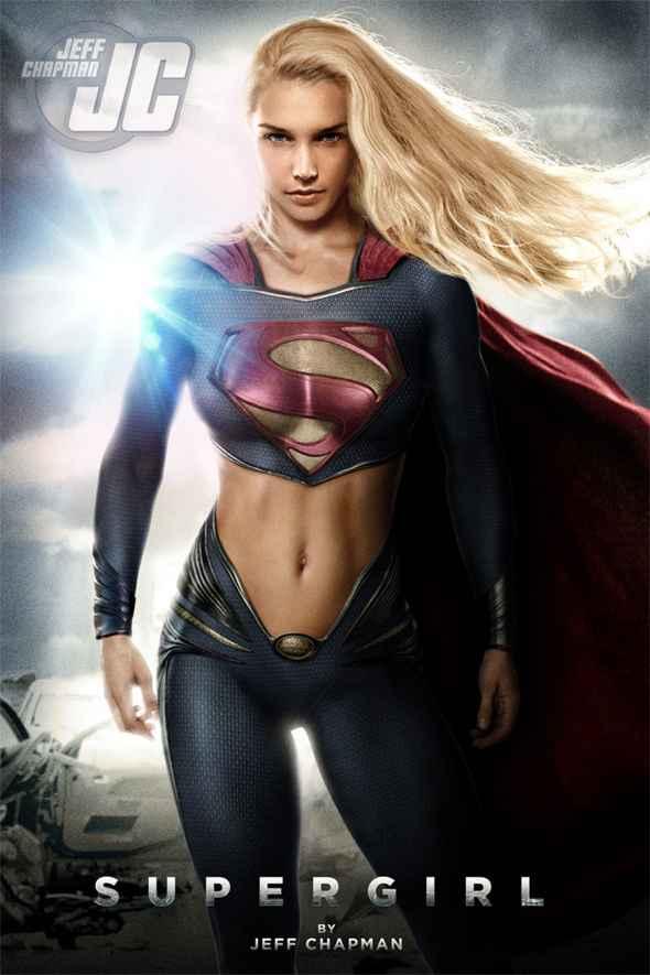 Les super héroïnes revisitées par Jeff Chapman