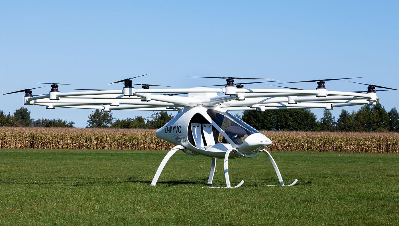 Volocopter un drone qui peut transporter deux passagers neozone - Peut on coucher un refrigerateur pour le transporter ...
