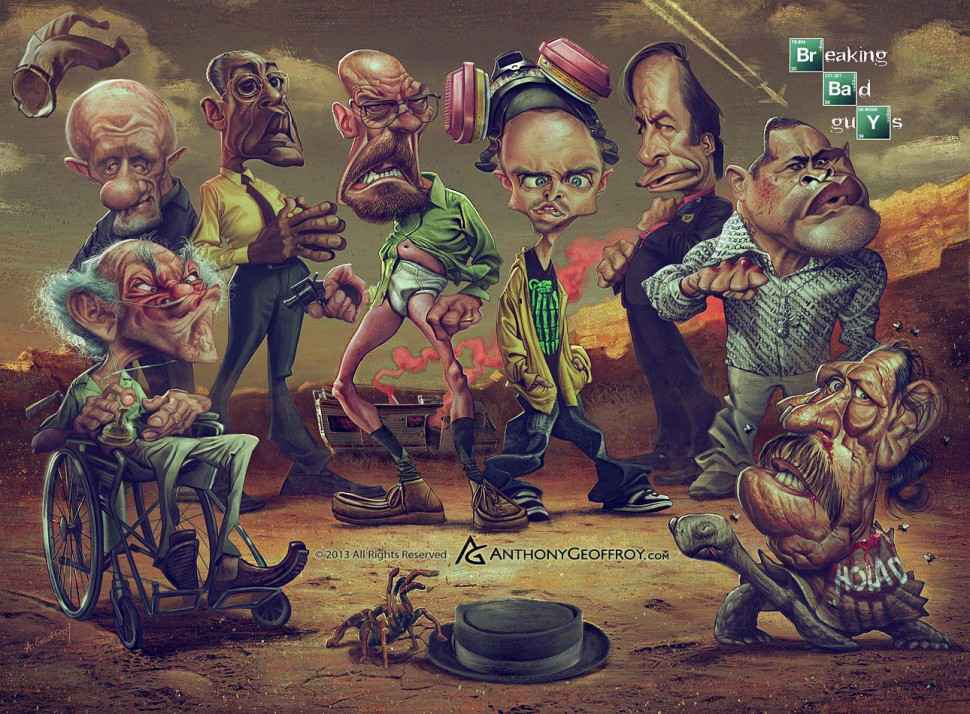 caricatures-breaking-bad-anthony-geoffroy-1