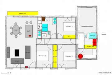 Plan de masse maison gratuit beautiful plan de maison une grande maison sur une petite surface - Dessiner un plan de masse ...
