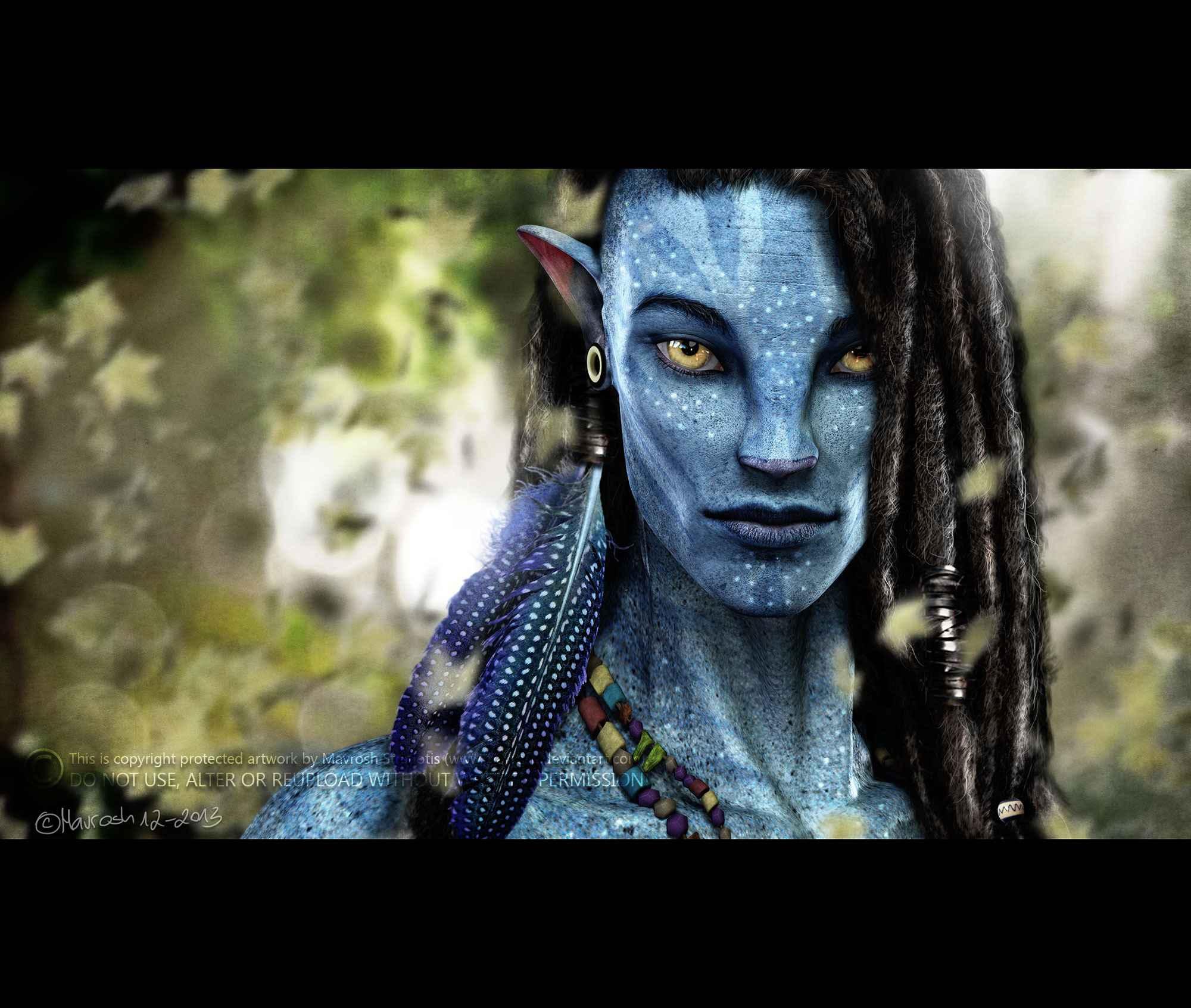 Avatar 2 2014 Movie: Daz-3d-navi_full