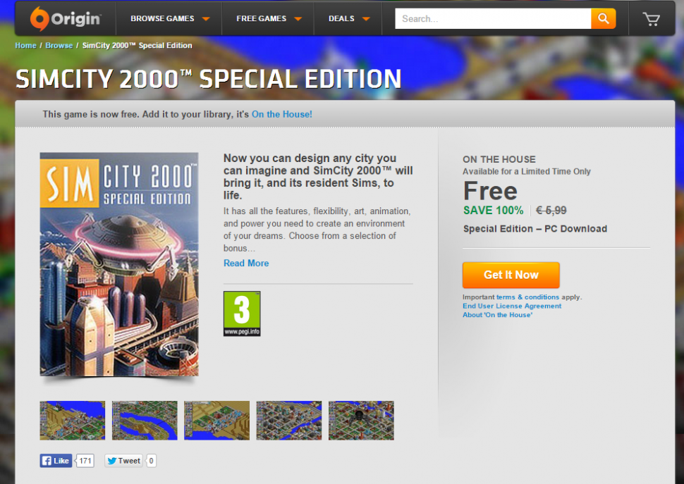 SimCity 2000 Special Edition for PC Download Origin Games