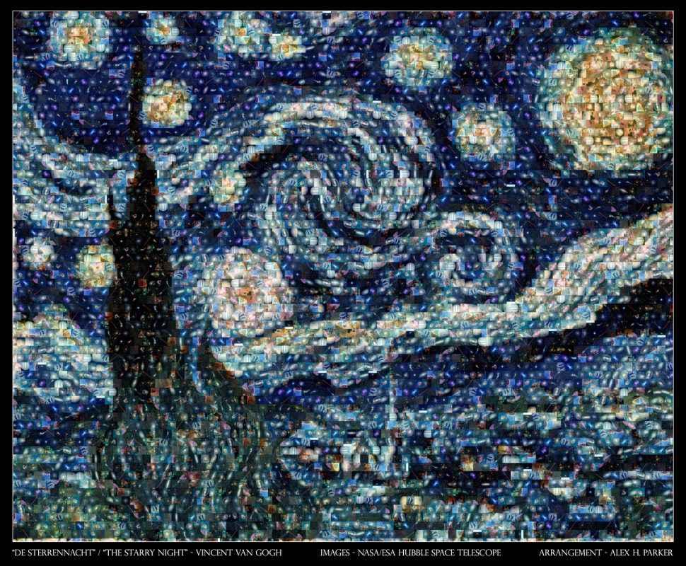 Hubble-Van-Gogh-Nuit-Etoile