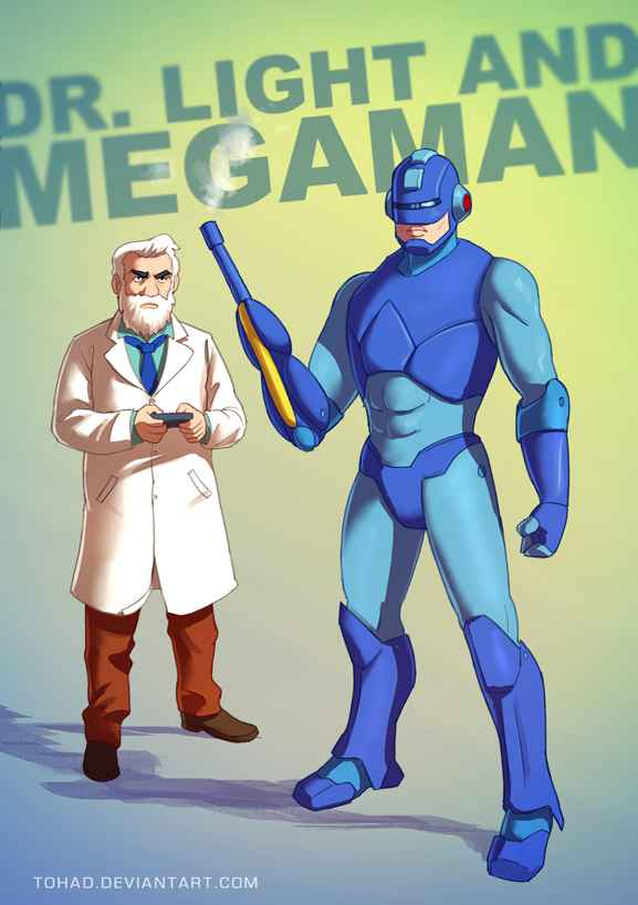 megaman_by_tohad