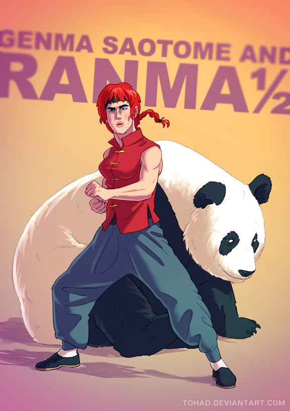 ranma_by_tohad