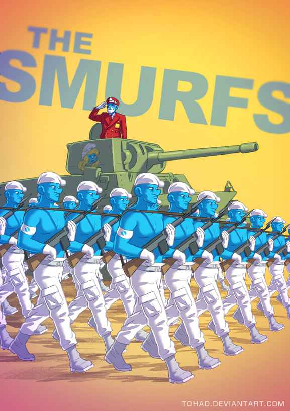 smurfs_by_tohad