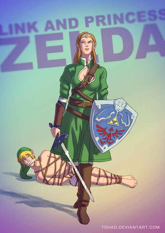 zelda_by_tohad
