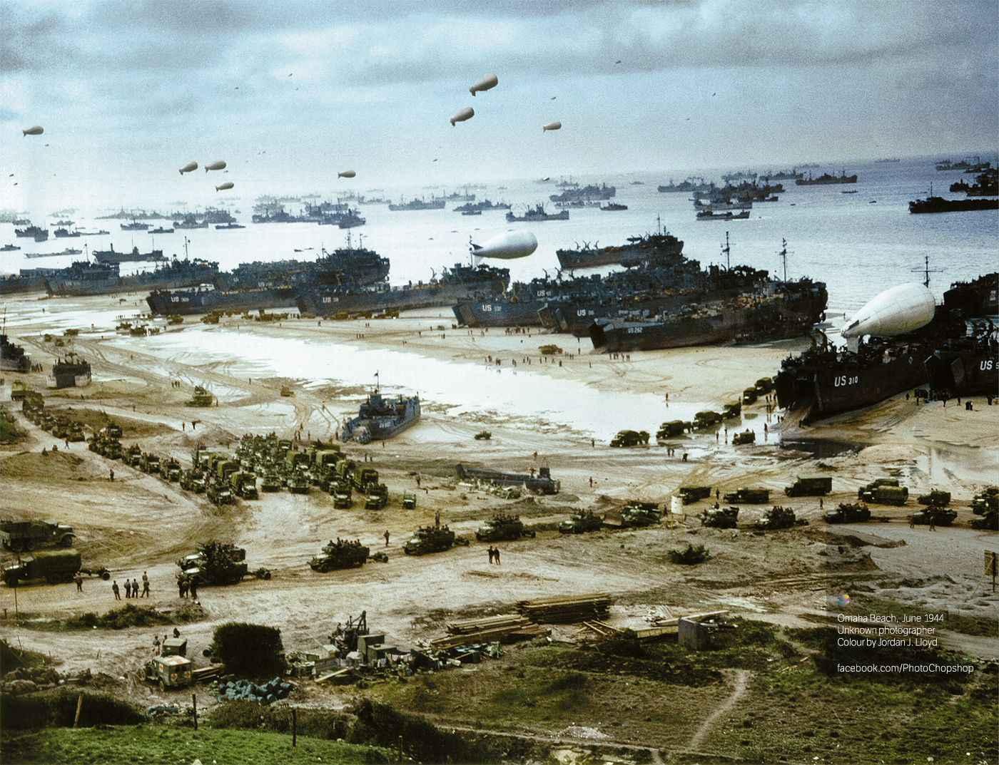 Juin 1944 - Opération Overlord (D-Day - Débarquement de Normandie)