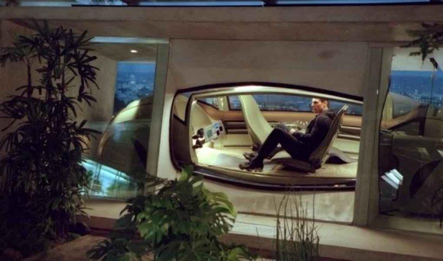 La voiture autonome de Tom Cruise dans le film Minority Report