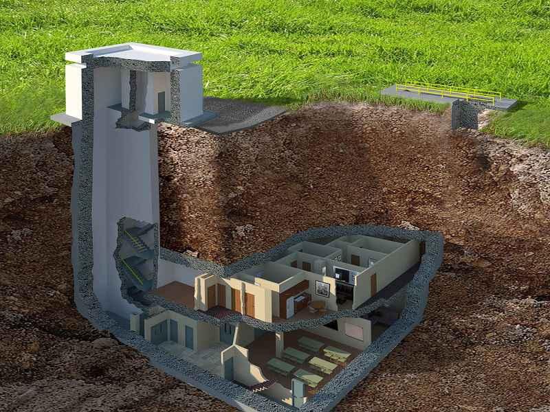 Plan du bunker