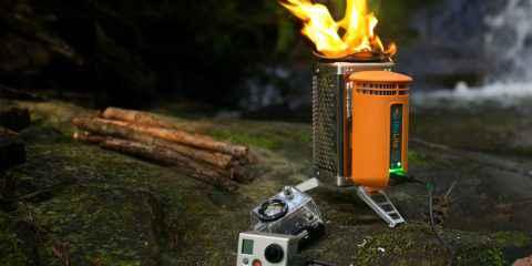 Biolite, réchaud recharge téléphone