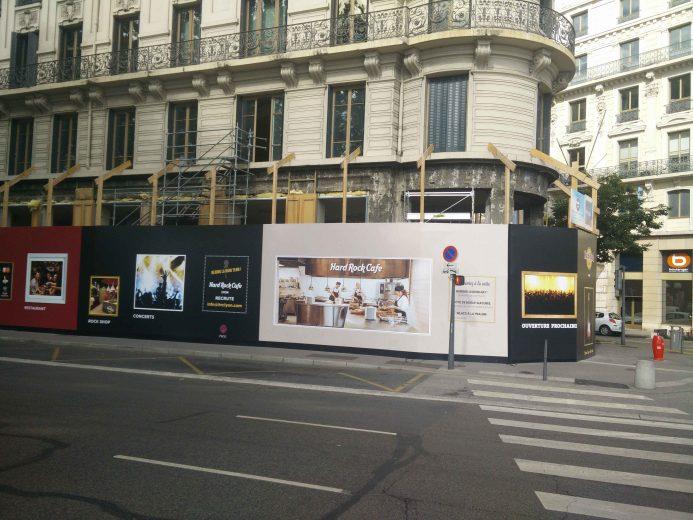 Rock Cafe Carte Lyon