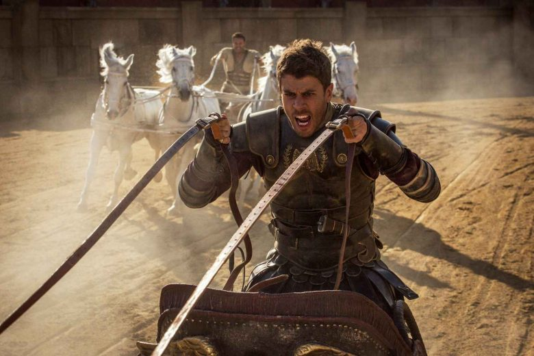 Toby Kebbell plays Messala Severus and Jack Huston plays Judah Ben-Hur Ben-Hur from Paramount Pictures and Metro-Goldwyn-Mayer Pictures.