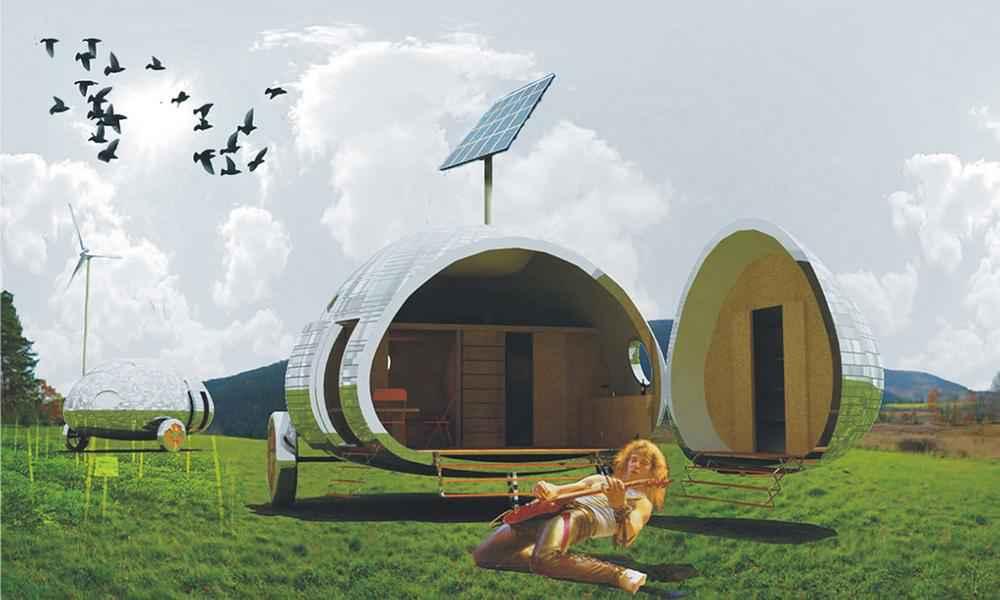 ecocapsule maison autonome 006 neozone. Black Bedroom Furniture Sets. Home Design Ideas