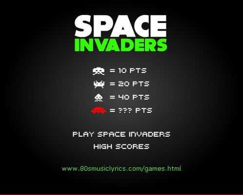 space-invaders-jeu-en -ligne