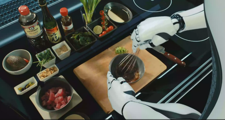 robotic kitchen le robot qui cuisine votre place neozone. Black Bedroom Furniture Sets. Home Design Ideas