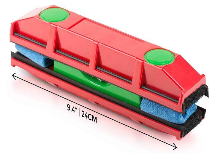 the glider une raclette magn tique pour laver les vitres inaccessibles neozone. Black Bedroom Furniture Sets. Home Design Ideas