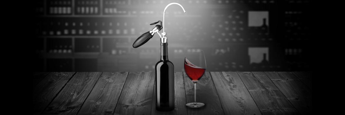 wikeeps un astucieux appareil pour conserver et servir le vin au verre neozone. Black Bedroom Furniture Sets. Home Design Ideas