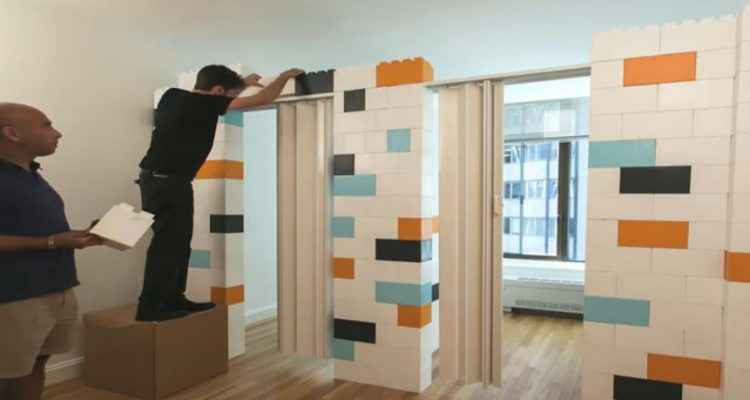 everblock des lego g ants pour transformer son int rieur neozone. Black Bedroom Furniture Sets. Home Design Ideas