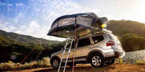 Tente de toit de voiture