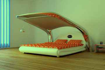 iNyx : le lit qui se transforme en salle de cinéma