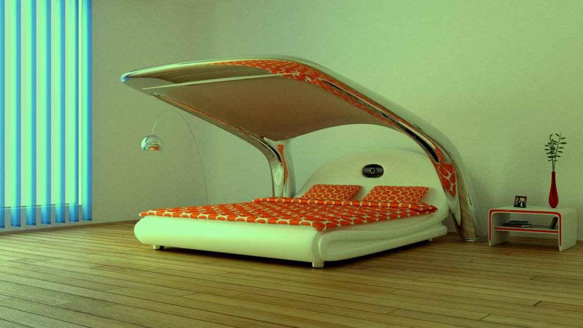 Inyx le lit qui se transforme en salle de cin ma neozone for Lit qui se range
