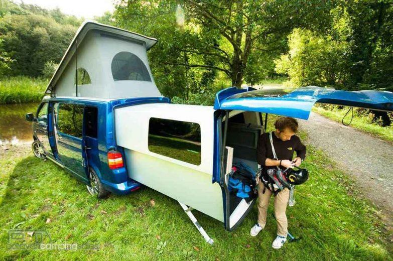 doubleback vw camper le transporter extensible de volkswagen neozone. Black Bedroom Furniture Sets. Home Design Ideas