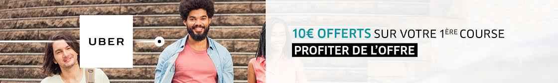 code promo UBER 10€