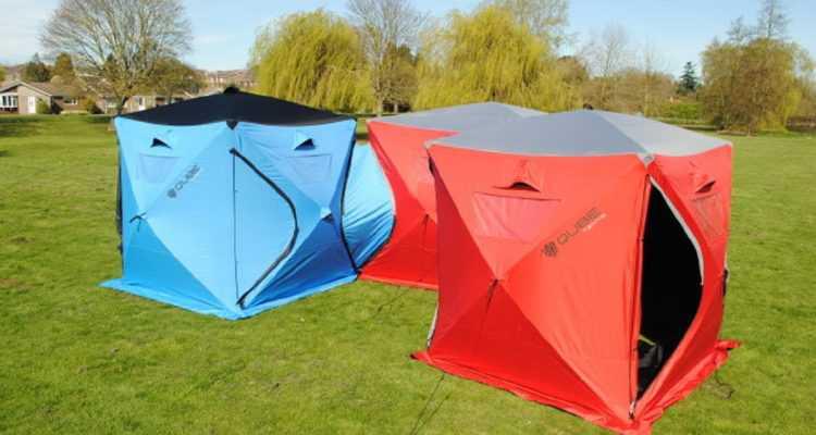 Qube tents, les tentes interconnectables à l'infini