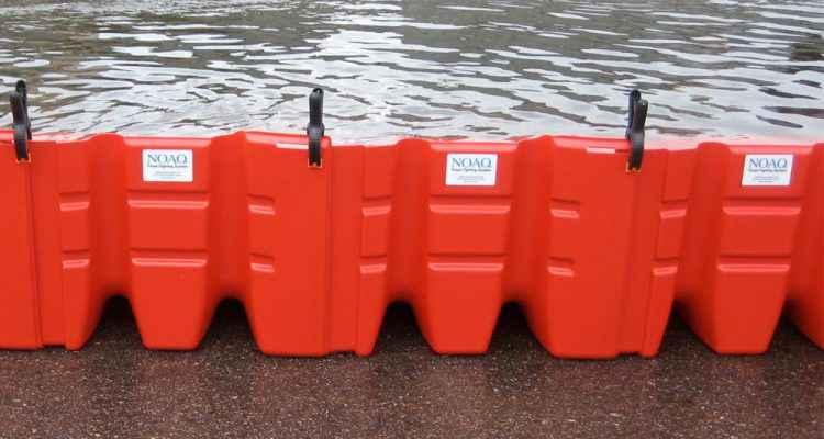 NOAQ Boxwall, Une Ingénieuse Barrière Anti Inondation Qui Se Monte En  Quelques Minutes