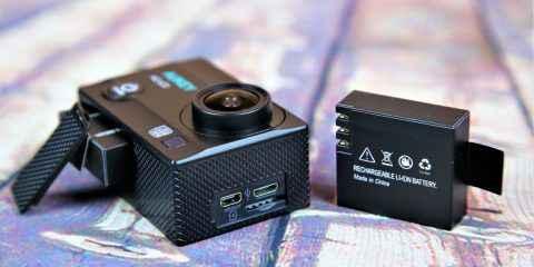 appareil photo qui a pris l'eau