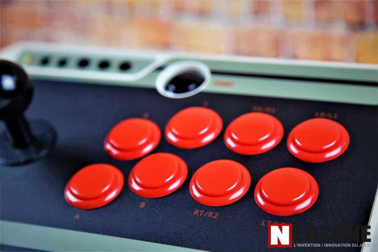TEST Joystick 8Bitdo NES30 Arcade Stick   NeozOne