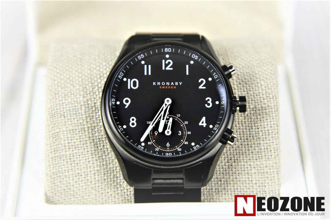 TEST : Kronaby A-1000, la montre d'horloger connectée par excellence !