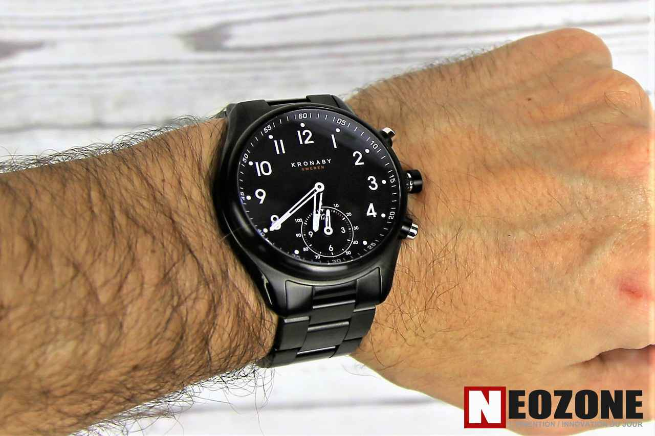 TEST : Kronaby A-1000, la montre d'horloger connectée par excellence !